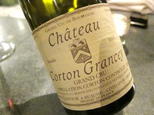 2003 Chateau Corton Grancey