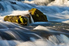 flow (pixability) Tags: water flow moss rocks falls rapids turbulence rogueriver
