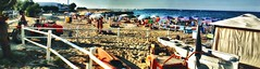 gli aranci - san foca - italia (paride de carlo) Tags: sea summer italy beach li san mare agosto ombrelloni salento spiaggia foca 2010 litoranea marangi
