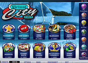 Virtual City Casino Lobby
