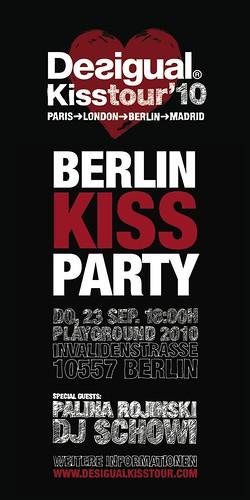 Desigual Kisstour Berlin