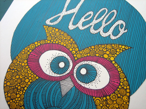 Hello little Owl details