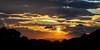 Sulle nuvole (the_lighter) Tags: sunset sun silhouette clouds 50mm nikon tramonto belvedere sole alto riflessi d60 tortoreto diviso dividedsun
