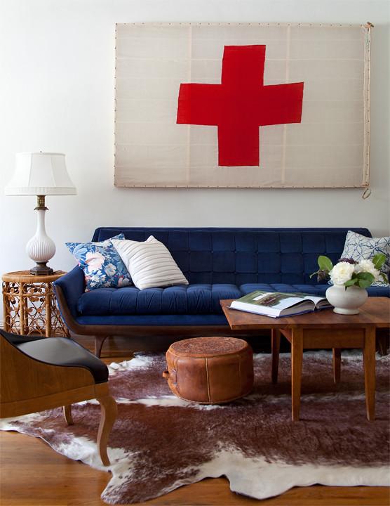blue couch original