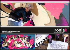 Igasm - Ironlak (Youset) Tags: graffiti australia uset ironlak igasm