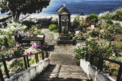Seixal. Cemetery. Cementerio. Madeira. Portugal