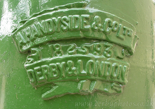 Handyside Lamp 1 of 4, Derby Cathedral Green