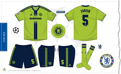 Chelsea Champions League third kit 2010/2011 (7football) Tags: shirt football chelsea 5 jersey adidas uefa championsleague maillot 2010 calcio 1011 maglia premierleague trikot 2011 essien 201011 20102011