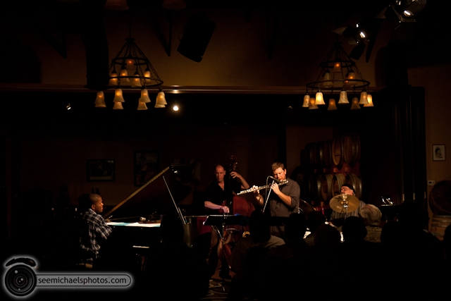 Joshua White Quartet at Dizzys 82610 © Michael Klayman-016