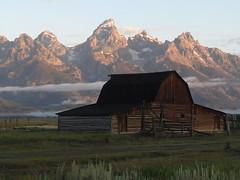 Grand Tetons (ChiefParker) Tags: grand grandtetons tetons mormonbarn mormonbarns