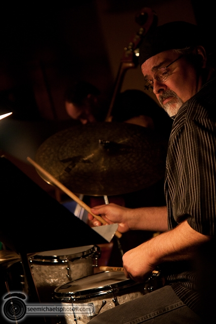 Joshua White Quartet at Dizzys 82610 © Michael Klayman-014