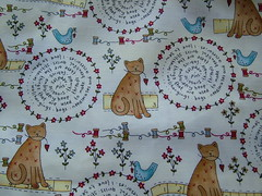 Lynette Anderson cat fabric