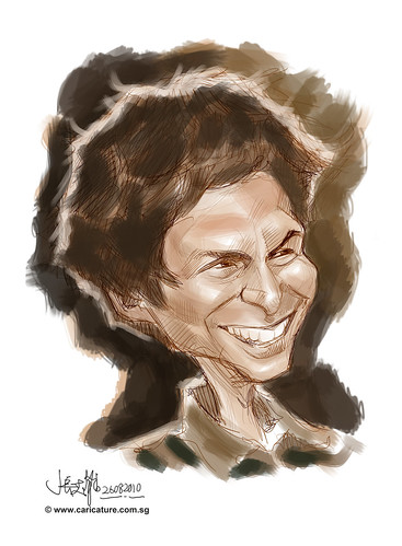 digital sketch of Michael Cera - 2