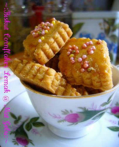 Biskut Cornflakes Lemak