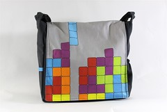 Tetris Messenger Bag
