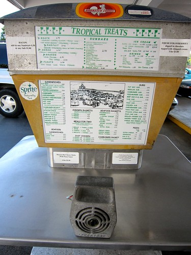 Tropical Treat  Hanover PA  Drive In Restaurant Menu