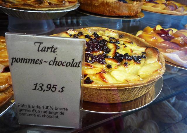 Tarte Pommes-Chocolat