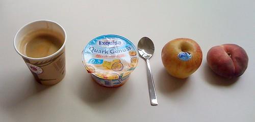 Quark Genuss, Apfel & Bergpfirsich