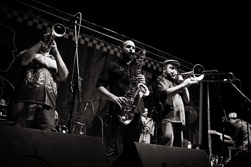 The Golden Singles Band with Mr.T-Bone - Rototom Sunsplash 2010