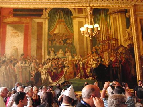 Napolean crowns Josephine Emperess