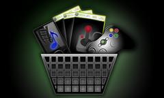"Xbox Dashboard Re-Design - New ""Marketplace"" Button (Jordan.A.) Tags: xbox xbox360 dashboard videogames games console gameconsole xboxdashboard design graphicdesign button uidesign userinterface photoshop green black arcade joystick zune music movies controller basket marketplace"