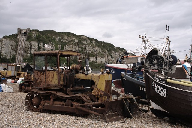 Hastings Beach Bulldozer