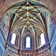Catedral de Segovia (Mayzenova) Tags: espaa spain catedral segovia cristaleras bveda catedraldesegovia