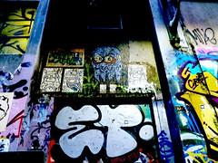 Graffiti 2, Centre Place, Melbourne, Australia.jpg.JPG (gruntzooki) Tags: graffiti australia melbourne sciencefiction con worldcon centreplace aussiecon aussiecon4