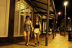 K11_5613 (bandashing) Tags: girls england manchester skinny lights fight bars highheels walk nightclub thighs alcohol short violence clubs nightlife disorder blackpool sylhet bangladesh plump longlegs minidress holdhands bandashing bandashingphotography