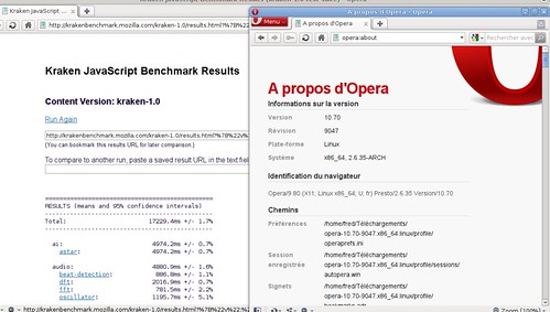 préversion Opera 10.70 avec Kraken