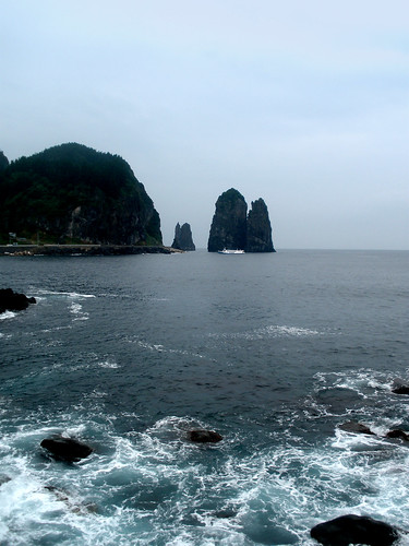 Samseonam Rocks (Three Fairy Rocks), Ulleungdo