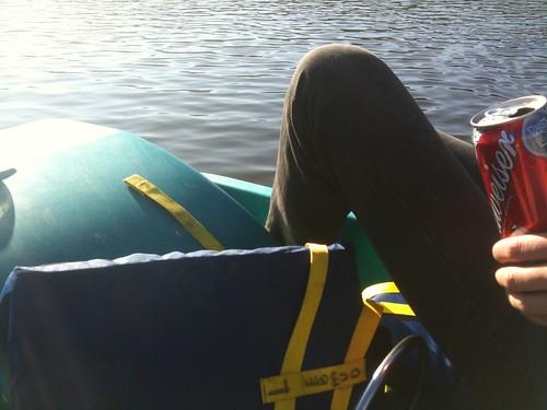 Paddle Boatin