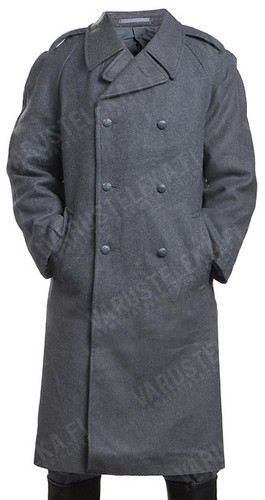 Varusteleka SA-INT Finland army greatcoat gray used