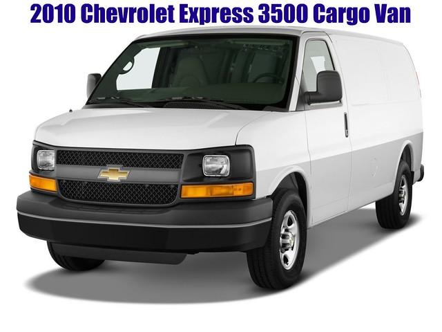 chevrolet cargo express van picnik 2010 3500