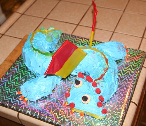 Jungle Dragon Cake
