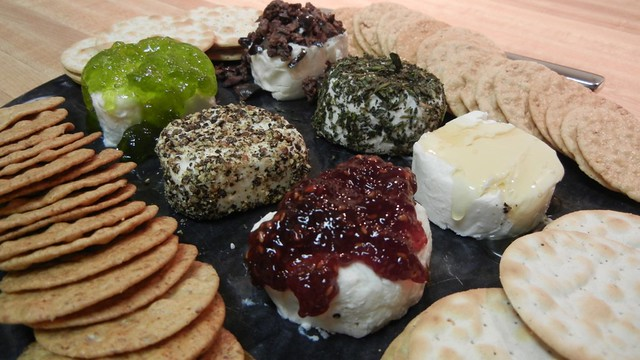 There is still time to make a chèvre cheese plate