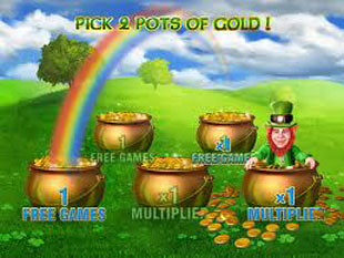 free Irish Luck slot gamble feature