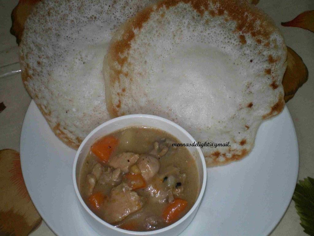 appam chicken stew