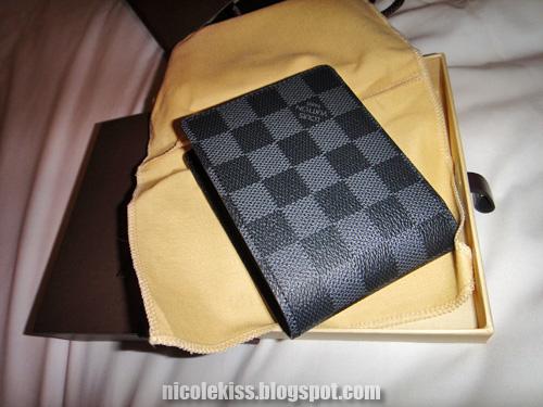 LV graphite multiple wallet