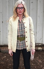 cabled roundneck (cardigansissy) Tags: cardigan