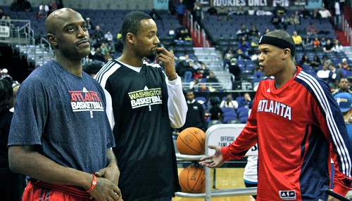 washington wizards, atlanta hawks, nba, february 5th, 2011, truth about it, adam mcginnis, rashard lewis, mo evans, damien wilkins