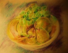 morefruit (greatartist) Tags: life red stilllife sun colour green art colors beautiful beauty yellow fruit pencils scarlet sketchy wonder sketch still cool nice interesting pretty colours natural suburban drawing overcast textures bananas sombre grapes fragrant expressive grapefruit colored serene neat lovely yellows spiritual coloredpencils coloured plain colourpencil pleasure pleasant mellow soothing muted colorpencil subtle meditative tactile mouthwatering precise colouredpencils colourpencils colouredpencil fruitful satisfying stilllifepink contempletive colored colouredpencil stilllifecoloredpencilscolored