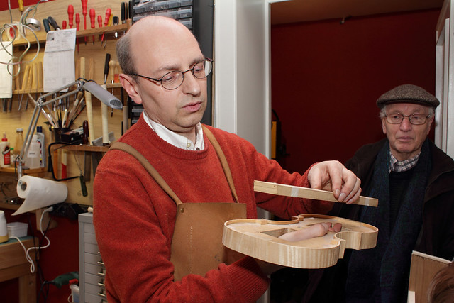 Bezoek aan artisanaal vioolaterlier Lutherie