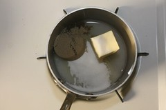 making toffee