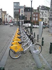 Rowery do wynajęcia są wszędzie