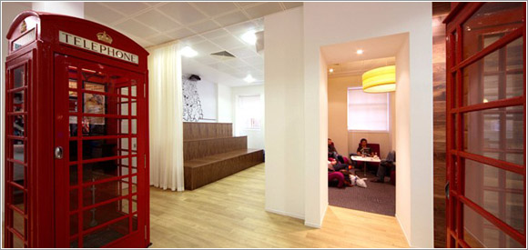 Awesome tech company office designs - Pingdom Royal