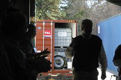 IMG_9063 (Water Mission) Tags: circle haiti prayer pray february shipping shipment 2011 21411 livingwatertreatmentsystems