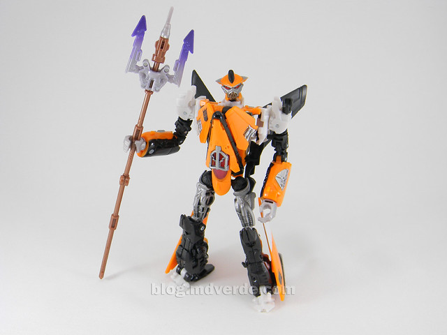Transformers Terradive Hunt for the Decepticons Deluxe - modo robot