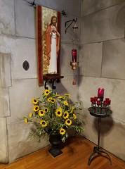 Summer 2017 (Saint John's Church, Passaic, New Jersey) Tags: saintjohnschurchpassaicnewjerseyusa episcopal episcopales anglican anglicanos anglocatholic anglocatolicos sacredheart sagradocorazon sungmass misacantada altar chasuble casulla incense incienso