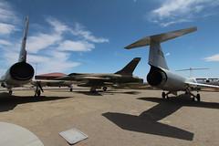 Convair F-106B, Republic F-105D, Lockheed F-104A (2wiice) Tags: republic f105 thunderchief republicf105thunderchief republicf105 republicthunderchief f105thunderchief f105d 610146 lockheed f104a starfighter 560790 f104 lockheedf104starfighter lockheedf104 lockheedstarfighter f104starfighter convair f106 f106b deltadart convairf106deltadart convairf106 convairdeltadart f106deltadart 590158